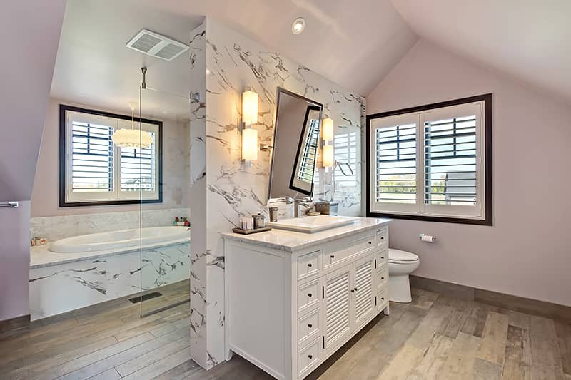 DeWinton Pantry & Loft Bathroom