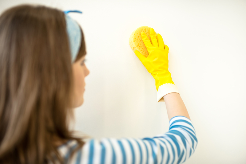 How to Clean Your Walls Before your Painter Arrives - Cal-Res Residential Painters - Residential Painters Calgary - Featured Image