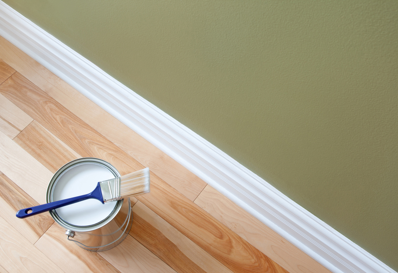 How to Paint Door Frames, Window Frames and Baseboards - Cal-Res Coatings - Residential Painters - Featured Image