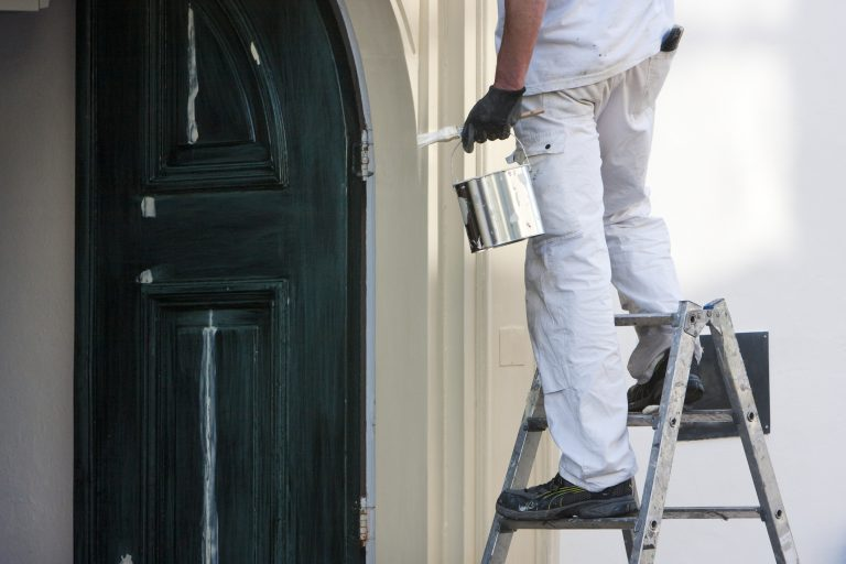 What does a residential painter do
